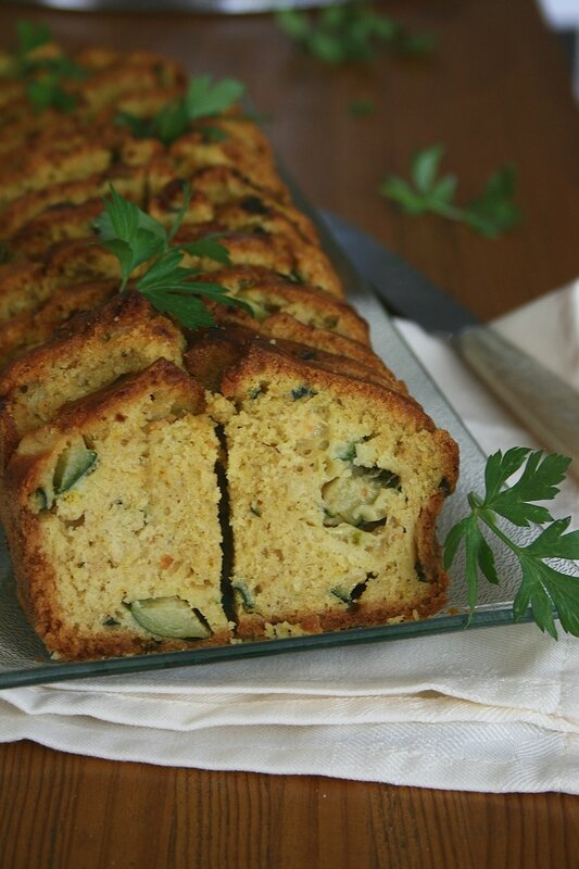 cake aux courgettes et curry