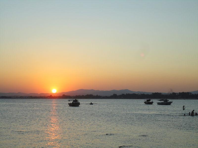 Le coucher de soleil du samedi 20 août 2011