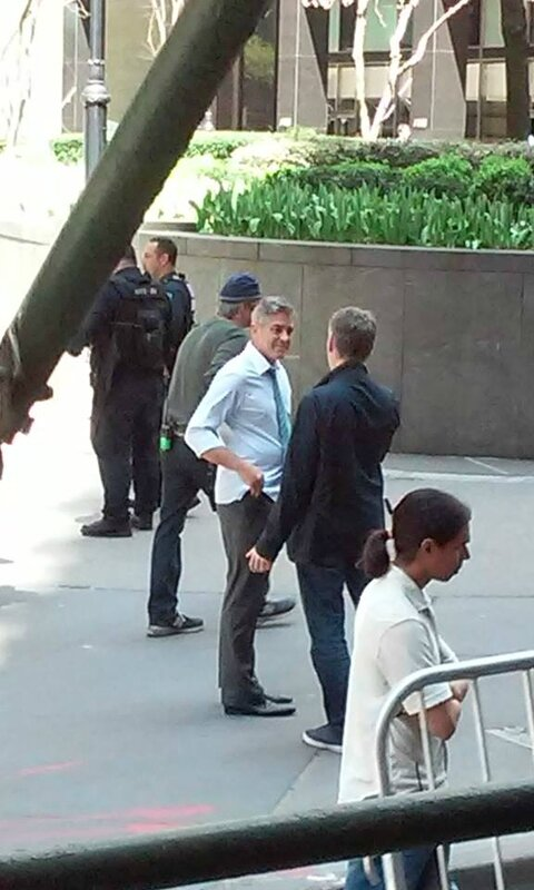 George Clooney on location: Money Monster NYC April 18, 2015 103580035