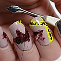 Nailstorming: crime scene