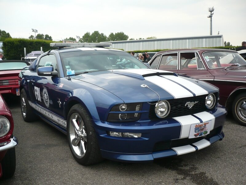 FORD Mustang GT California Special équipement Police Interceptor 2007 Illzach (1)