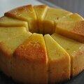 Cake à la semoule agrumes et fleur d 'oranger