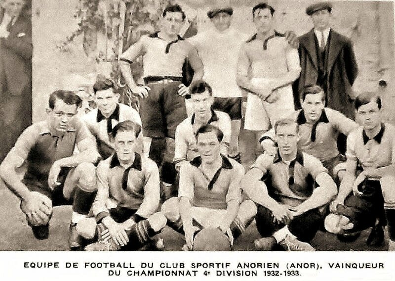 ANOR-Foot 1932-1933