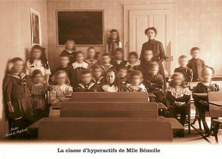 La classe d'hyperactifs de madame bémolle