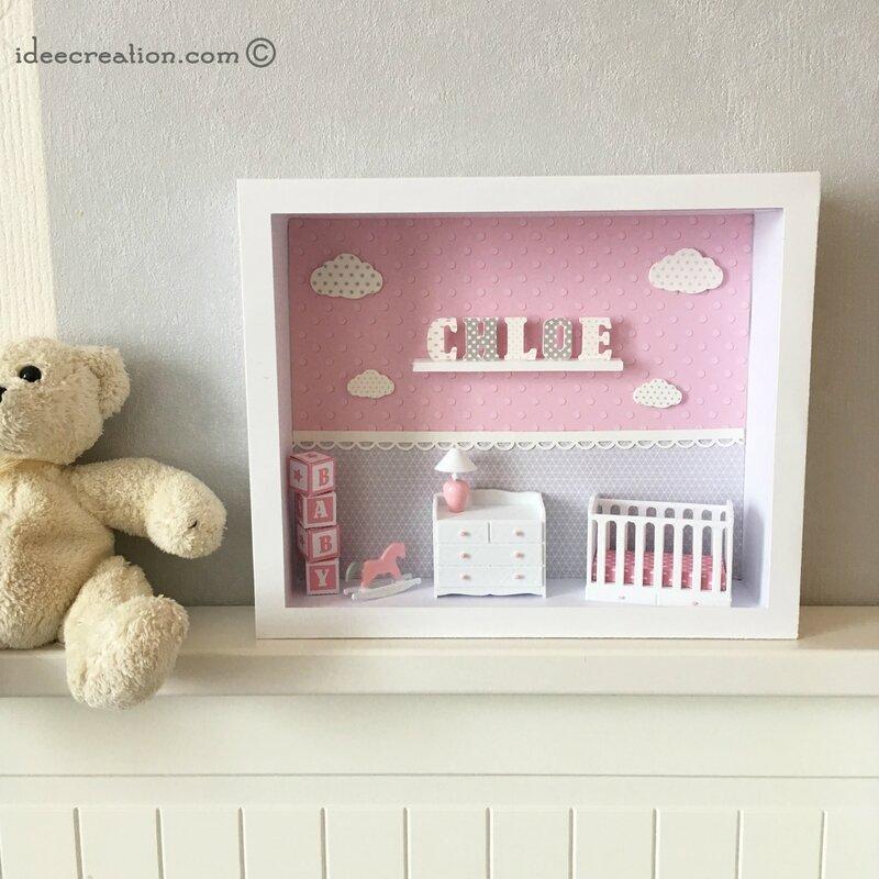 vitrine bebe prenom rose 2