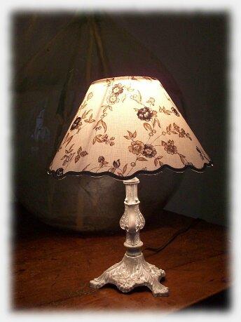 lampe fleurs bleues2