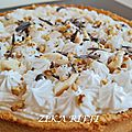 Poiroffee pie ( ma version du banoffee pie)