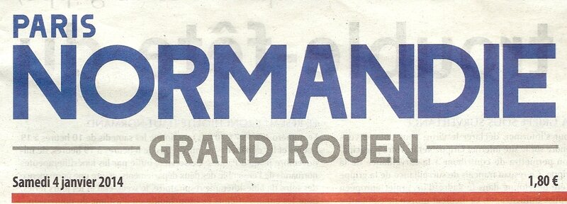 Pour 2014, Paris-Normandie apporte son aide ! Bonjour à tous.