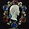 Roman Cameo, 1st-3rd century AD. Dioscorides, lapidary Caesar Augustus (63 BCE -14 CE)