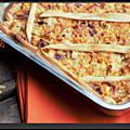 Tarte carottes poulet au curry