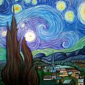 Copie de van gogh, la nuit étoilée
