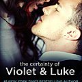 The certainty of violet & luke (the coincidence #5) by jessica sorensen