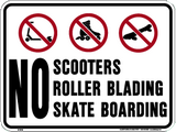 No scooters-pf