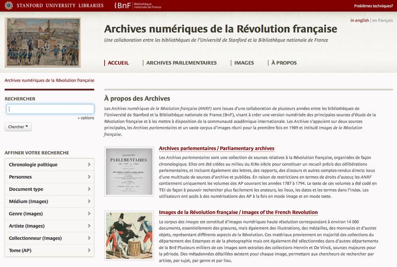 Archives de la Revolution francaise
