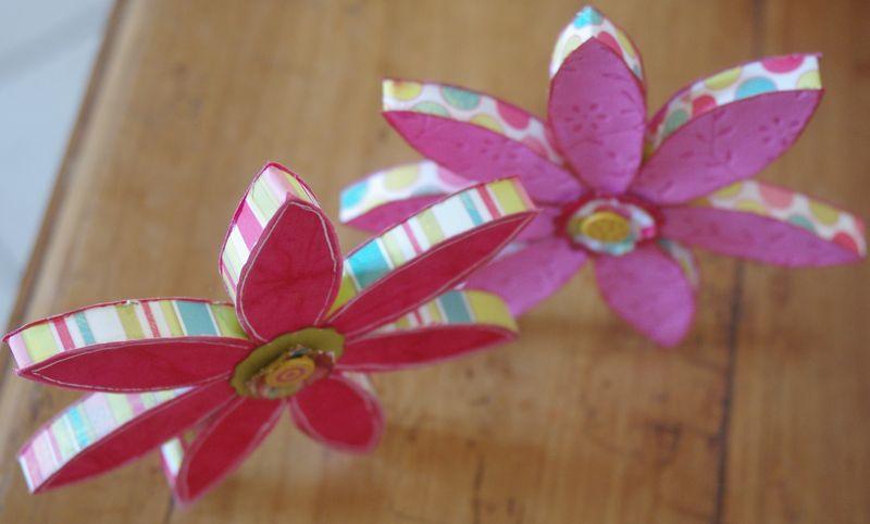 Fleurs en carton le blog de christel - Fleur en carton ...