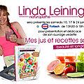 Linda leininger dédicace au cora de forbach