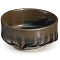 A small russet-striped blackish-brown-glazed bowl, china, northern song-jin dynasty, 12th-13th century