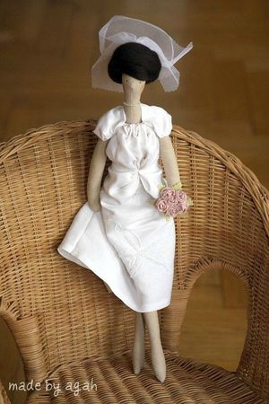 OOAK fabric doll Etsy 2