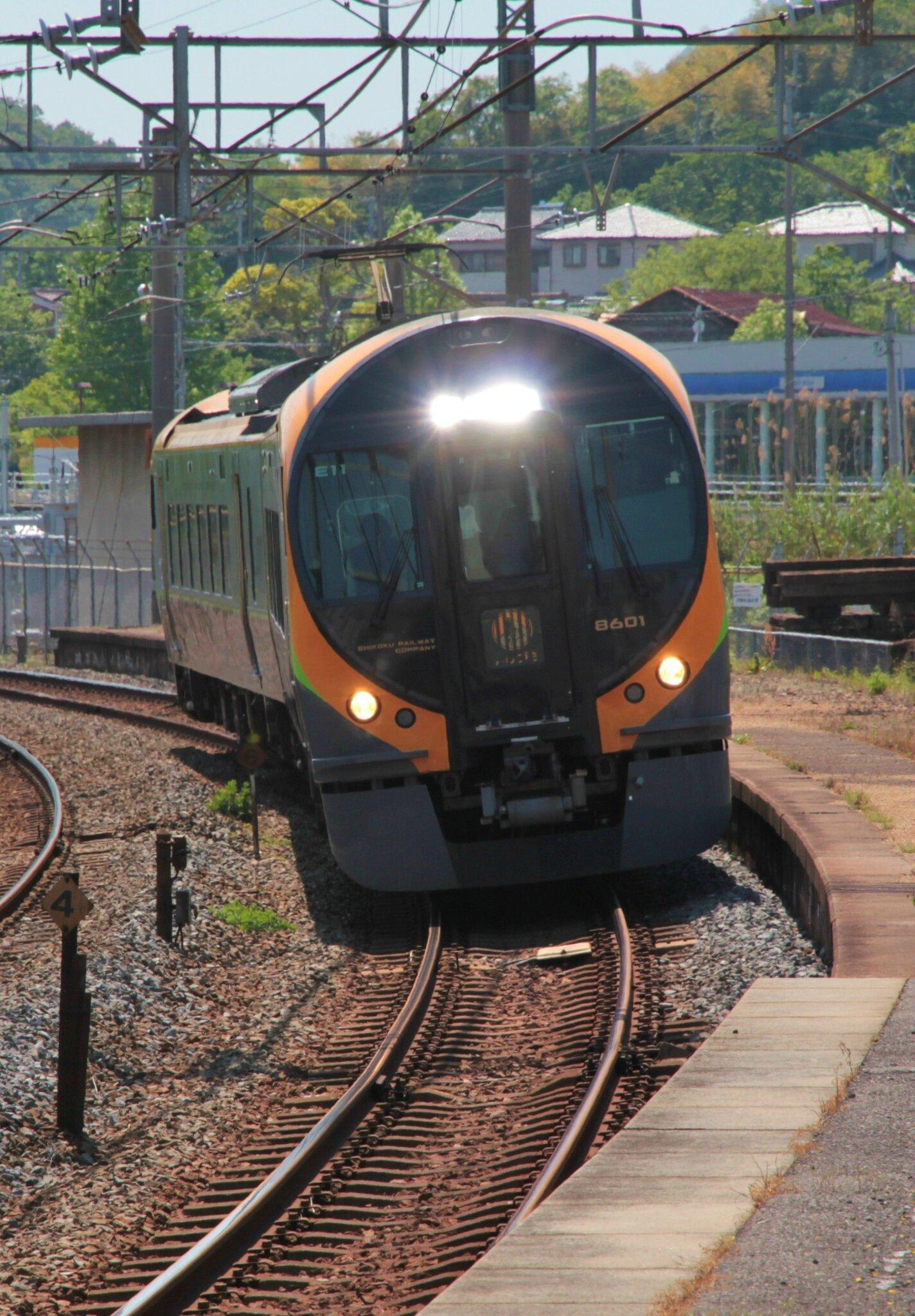 JR 8600系, Kokubu eki