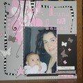 Louna et maman