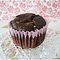 Muffins aux 3 chocolats