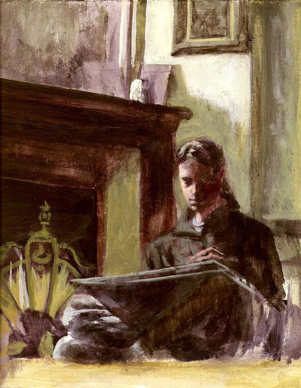 Autoportrait salon Ardesco small
