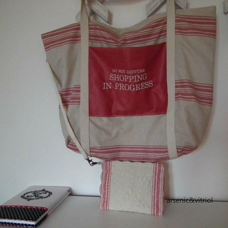 sac torchon et pochette