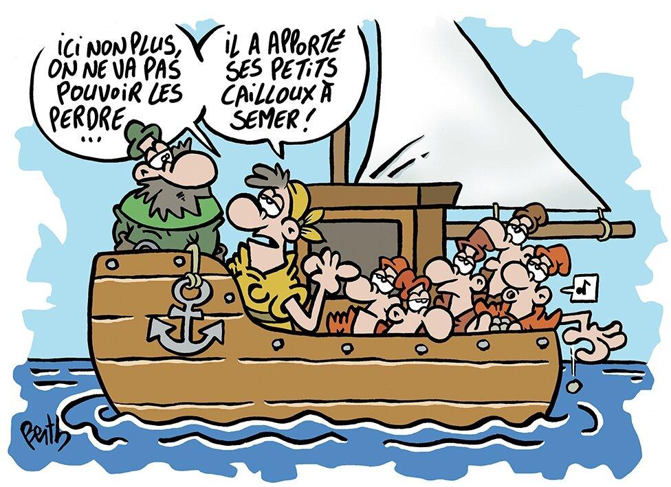 bateau de peche humour
