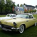 FORD Thunderbird 2door convertible 1957 Baden Baden (1)