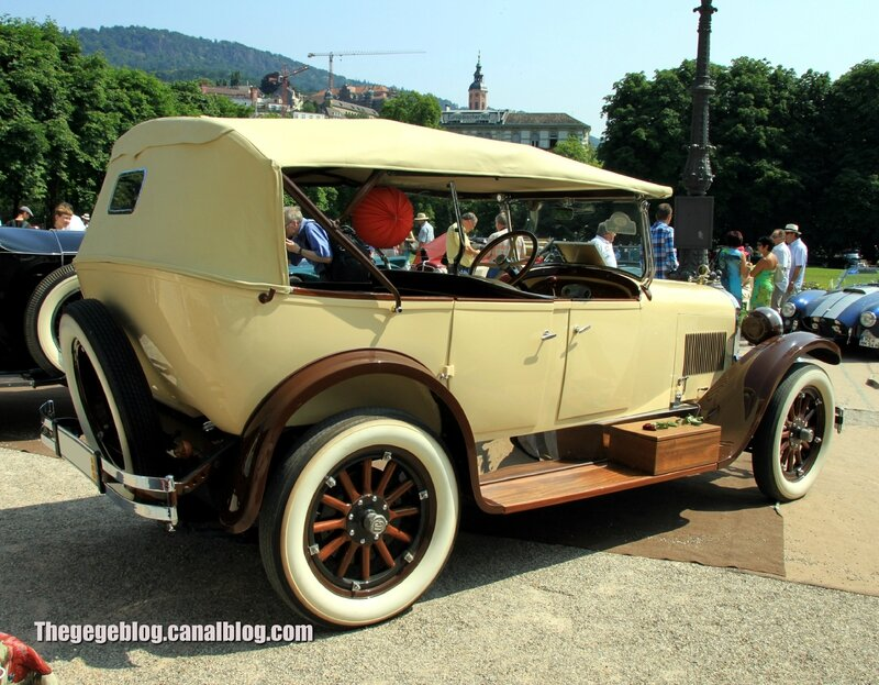 Dodge Brothers touring torpedo de 1917 (37ème Internationales Oldtimer Meeting de Baden-Baden) 02