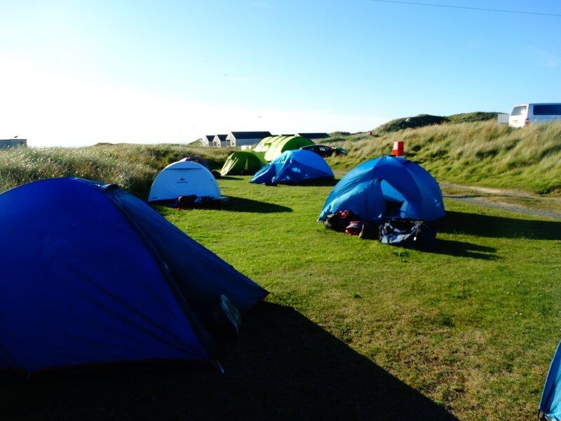 Notre campement pour une semaine.
