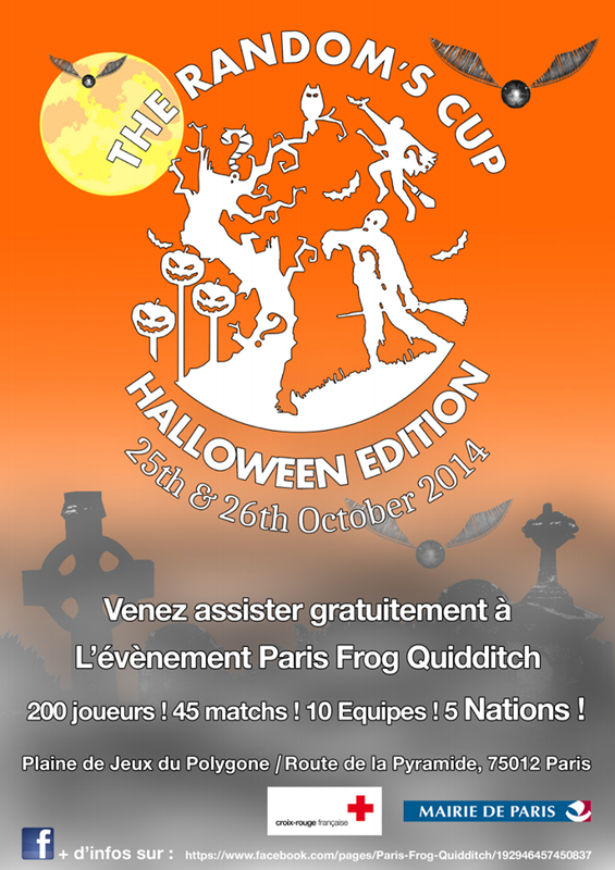 affiche halloween cup