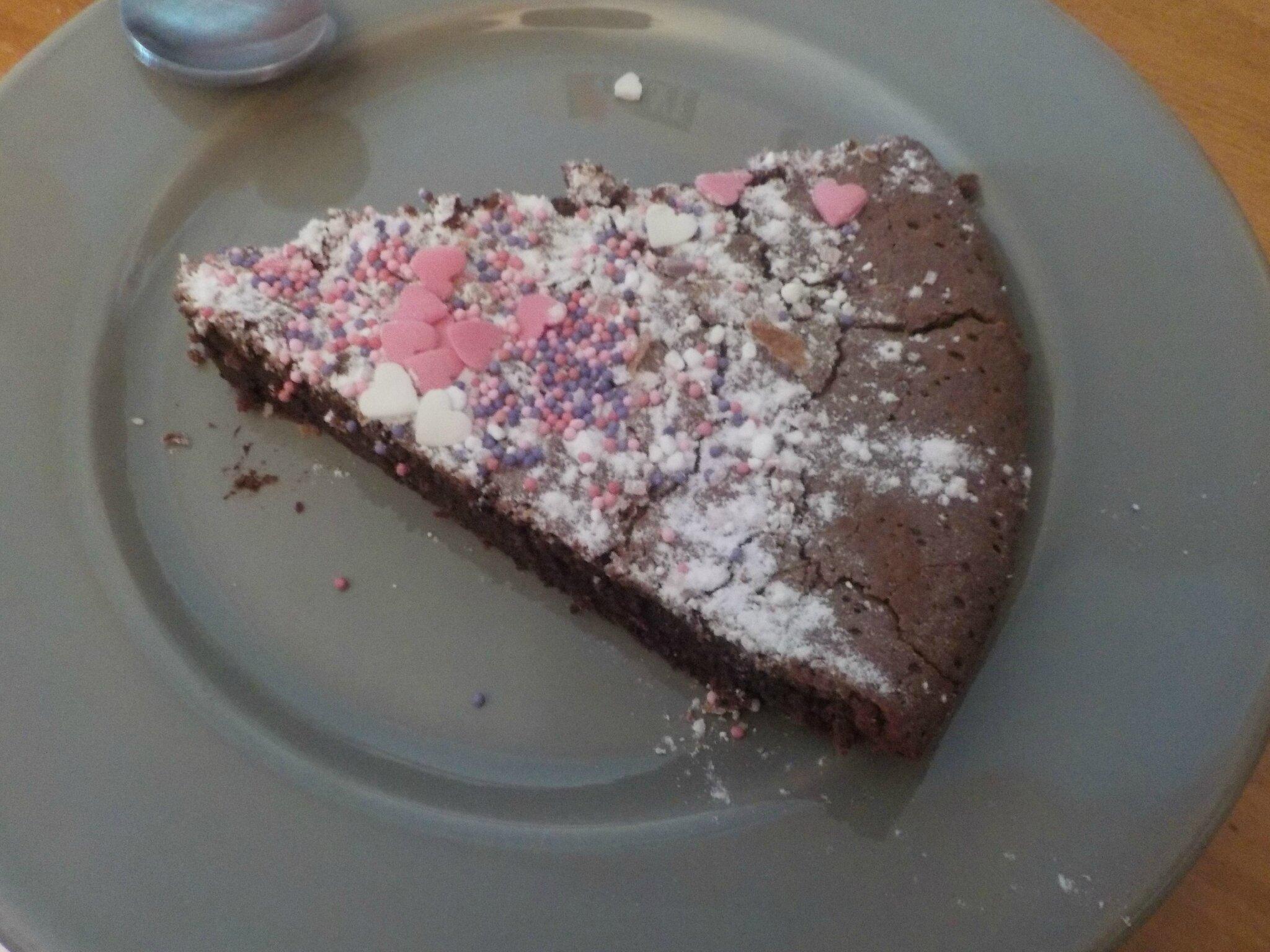 RECETTE 1: Le gâteau au chocolat
