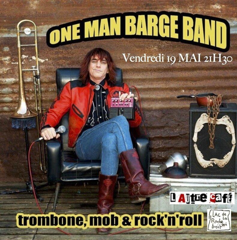 l'Autre Café bar brocante lac de la Roche-qui-Boit concert One Man Barge Band 19 mai 2017
