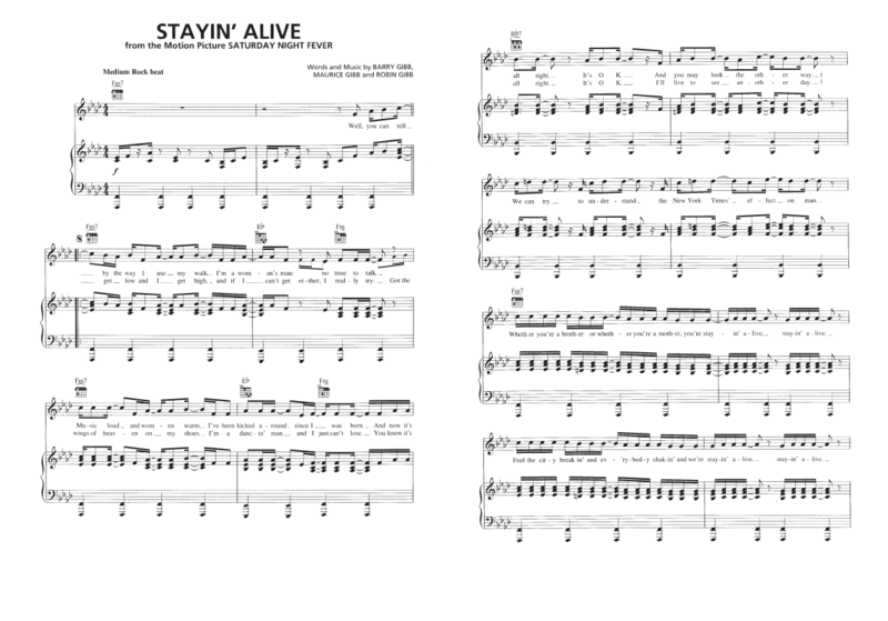 Stayin Alive 01