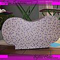 Meuble en carton pour Valentine mais 2011