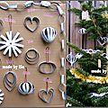 Recyclage Bouteille Lait: décos de Noël