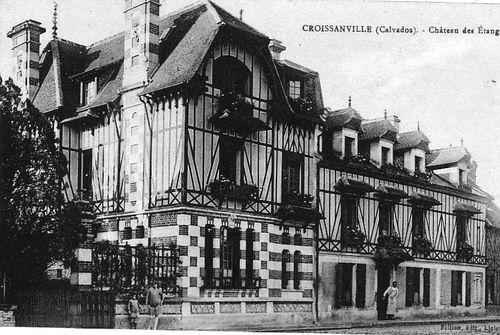 Croissanville - château des étangs