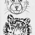 Comment peindre une tête de tigre