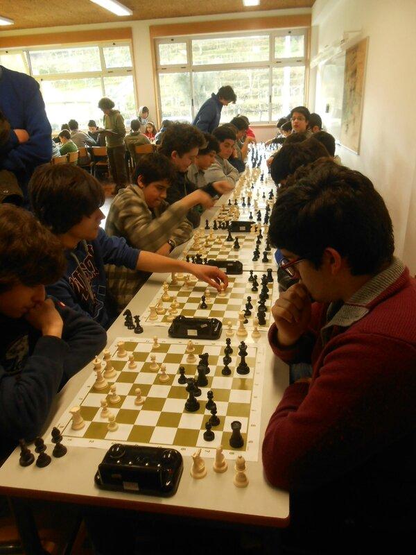 Distrital de Xadrez do Desporto Escolar 007