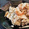 poisson sauce crevettes