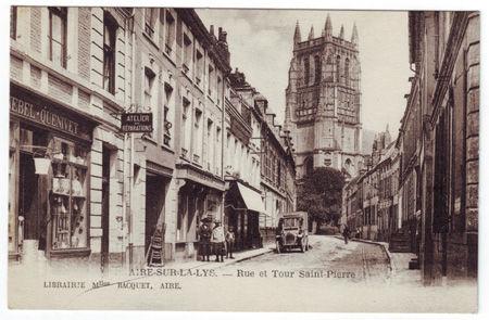 62 - AIRE SUR LA LYS - Rue Saint Pierre