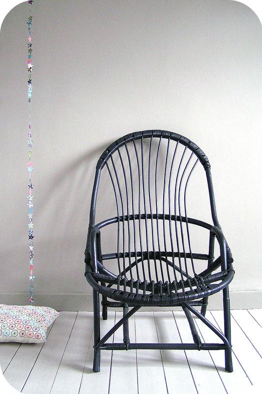 Fauteuil en rotin l 39 atelier du petit parc - Peindre un fauteuil en rotin ...