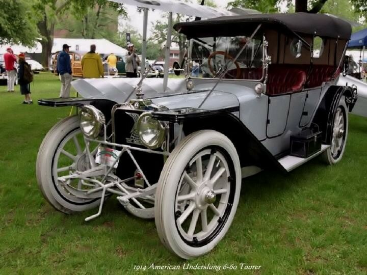 1914 - American Underslung 6-60 Touring