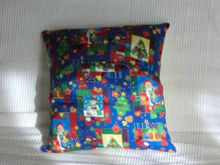 couture - 2012-10-30 - coussin Noël Christelle (dos)