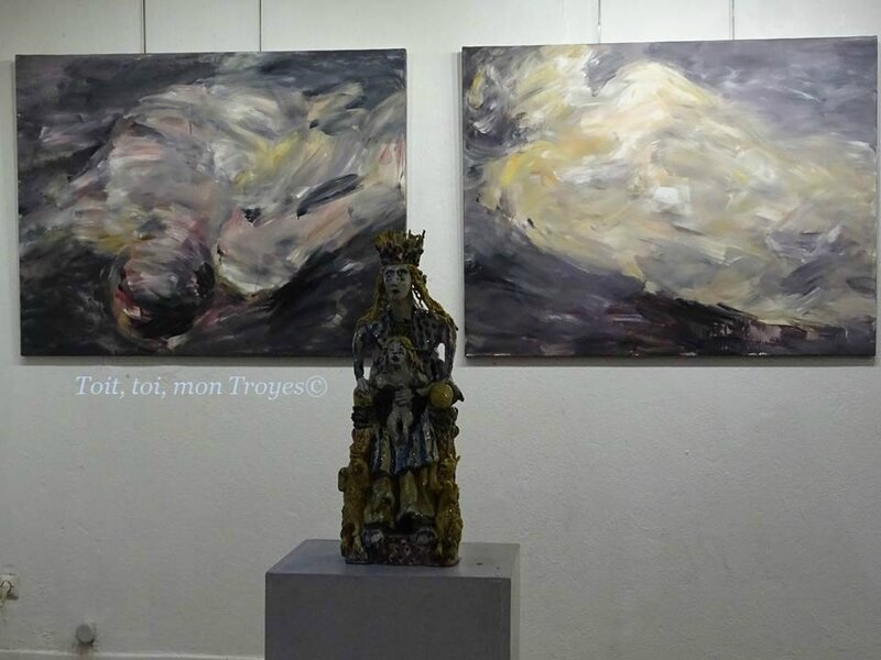 Pierre Amourette galerie Arrivage Troyes (1)
