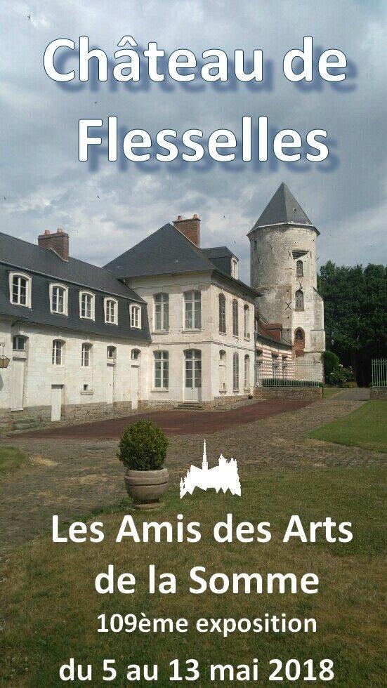 Exposition au Château de Flesselles