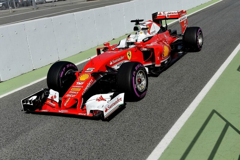 2016-Barcelone test-SF16-H-Vettel-1