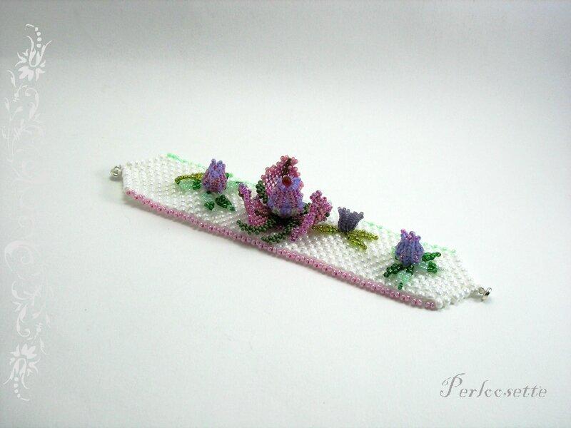 fleurs tissées