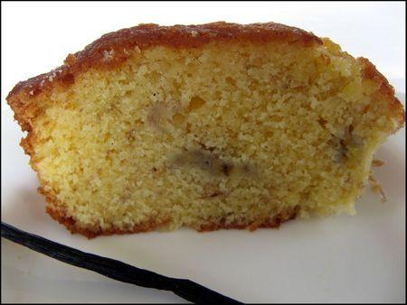 cake banane vanille